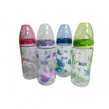 nuk biberon first choice pa silicona m 0 6m 300ml